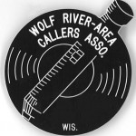 Black and white WRACA badge
